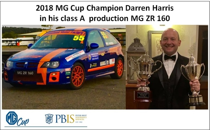Champion 2018 Darren Harris MG Cup